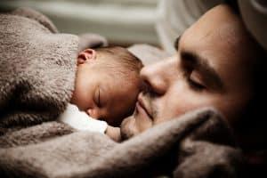 תינוק ואבא